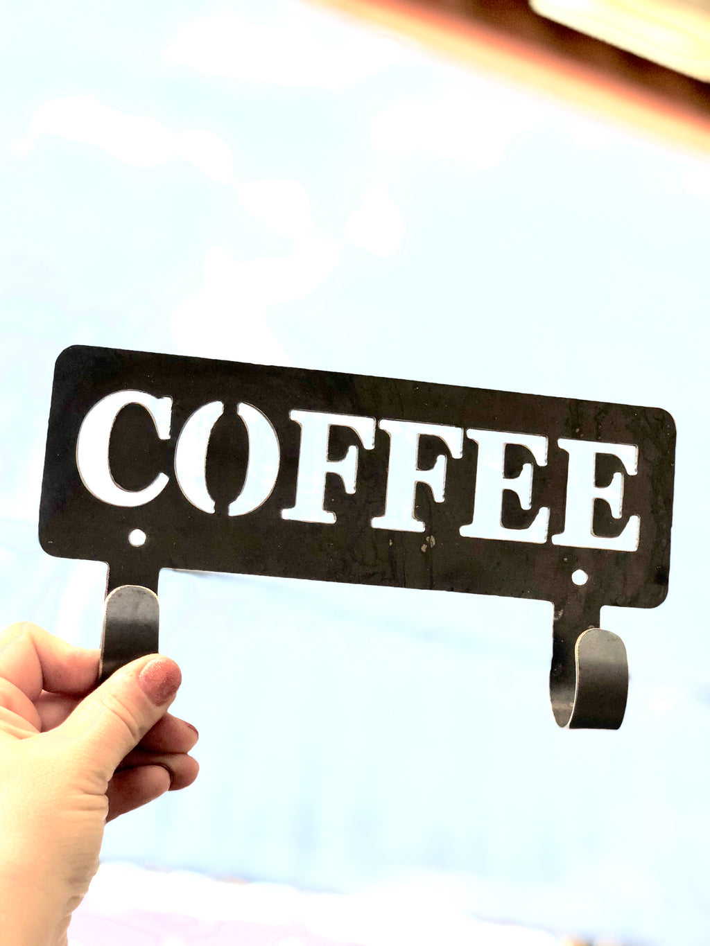 Coffee metal 2 hook