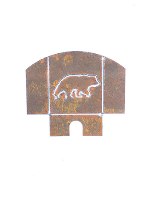 Custom Metal Night Light - Grizzly Bear