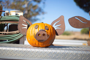 Pumpkin Pig Pieces