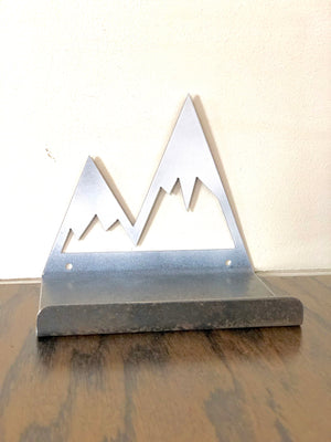 Mountain Top Metal Shelf