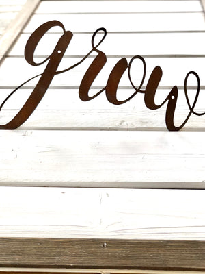 Buttercup Sample Script Metal Word Wall Expressions