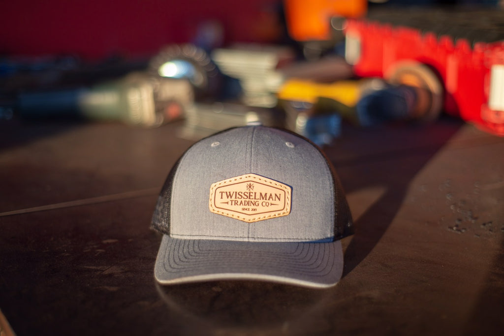 TTC - 112 Richardson Trucker Snapback Heather Grey/Black