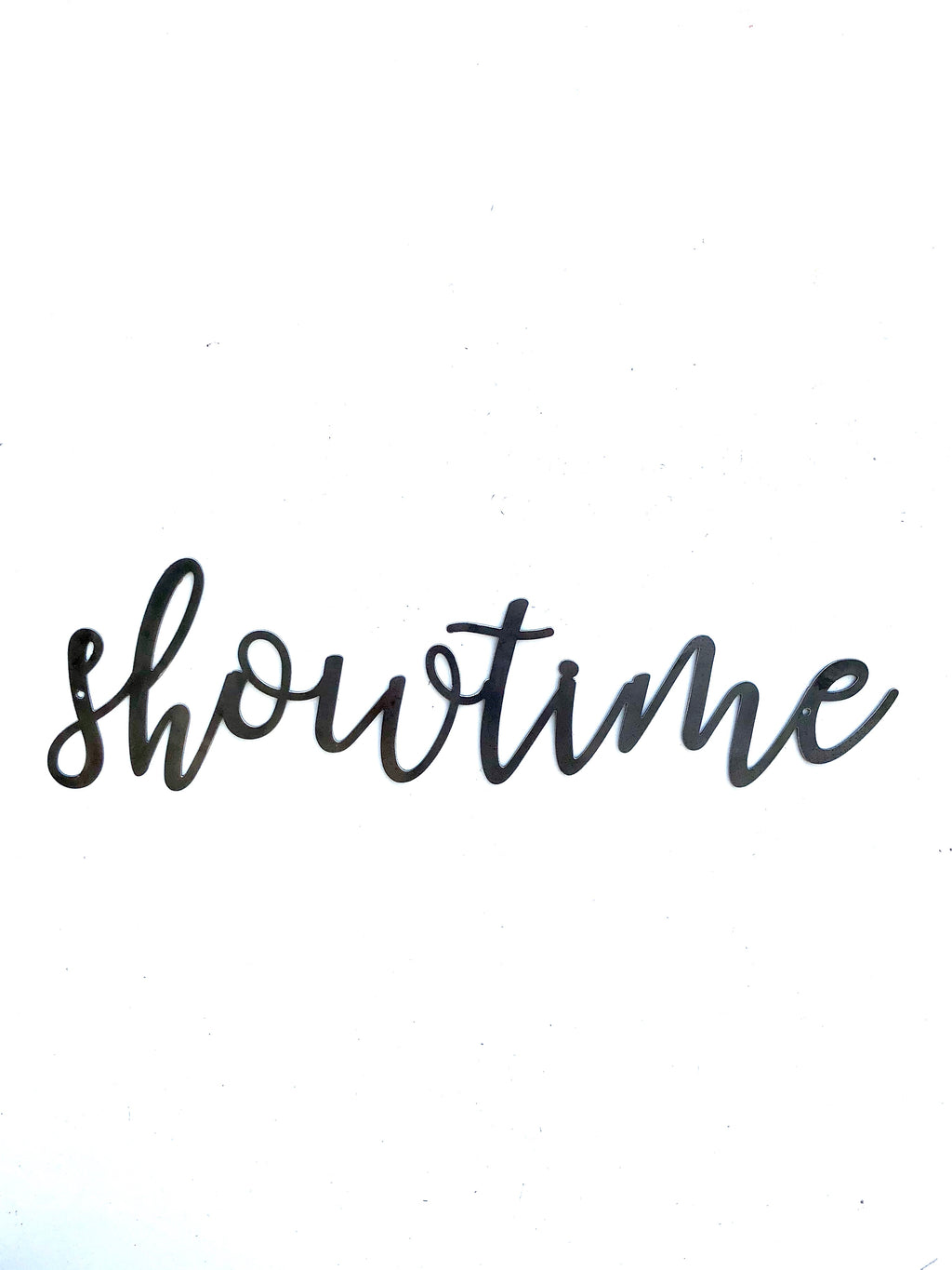 Showtime Script Metal Word Wall Expressions