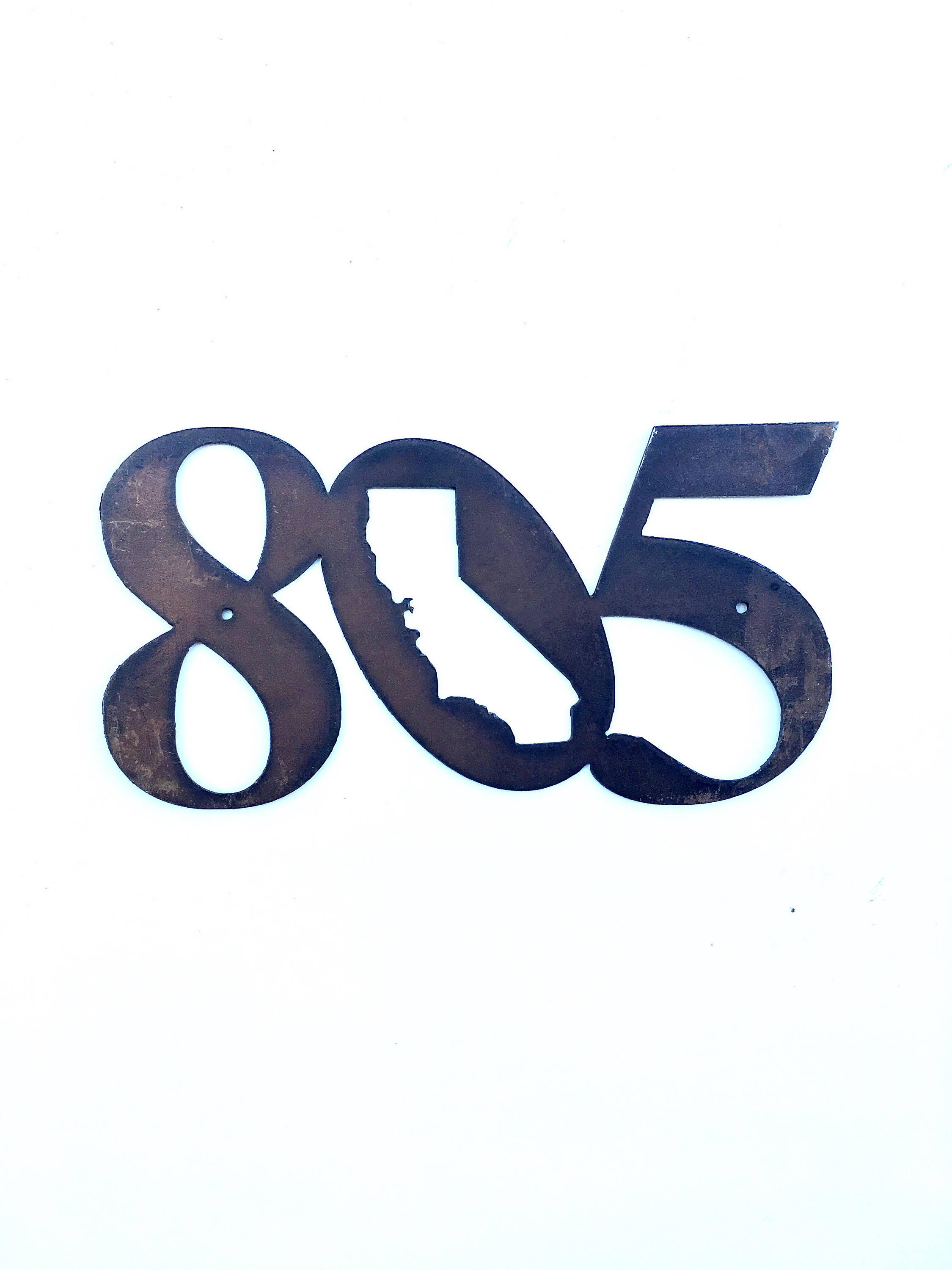 805 Metal Cutout - Small