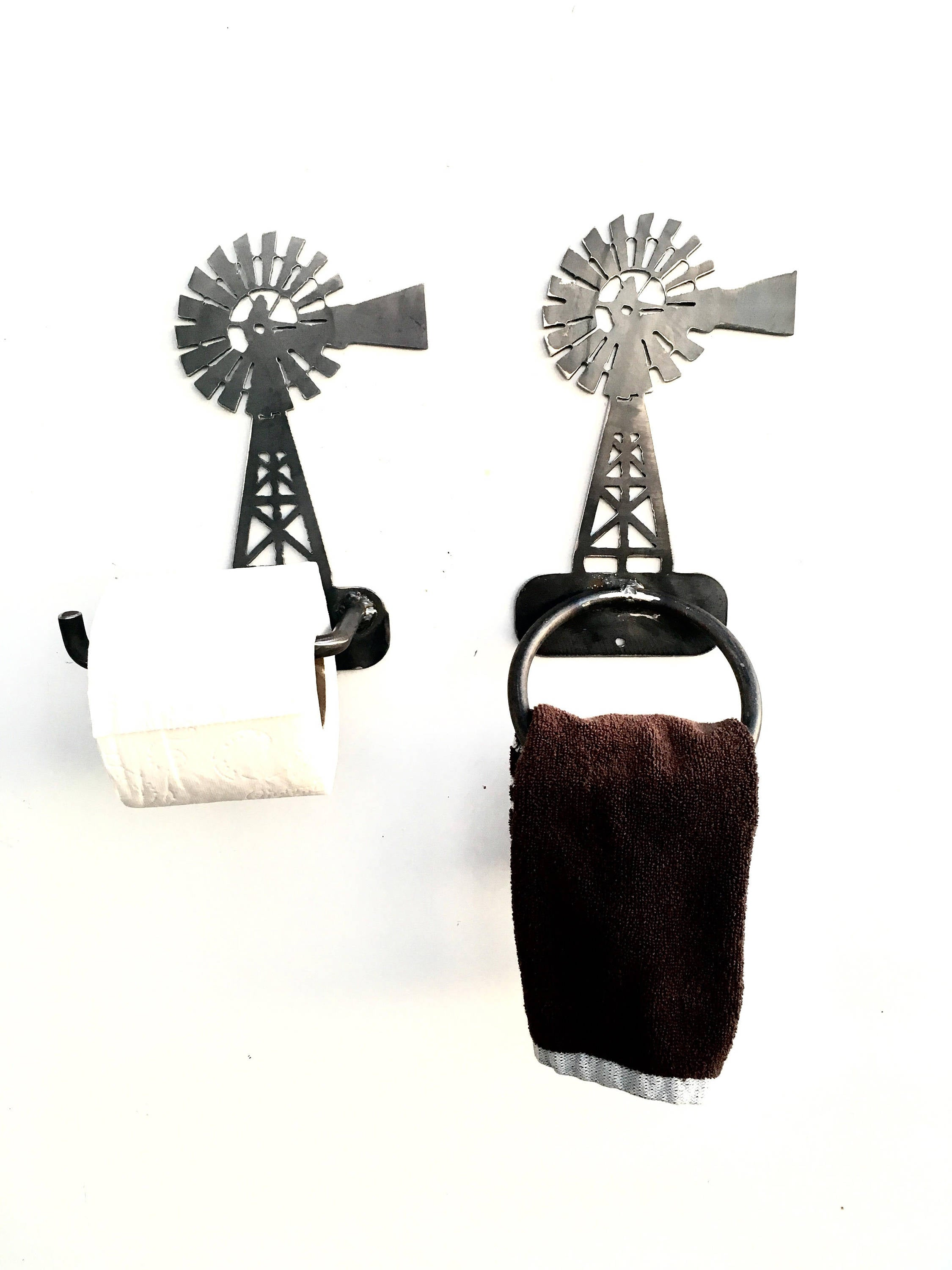 Windmill Towel Rack