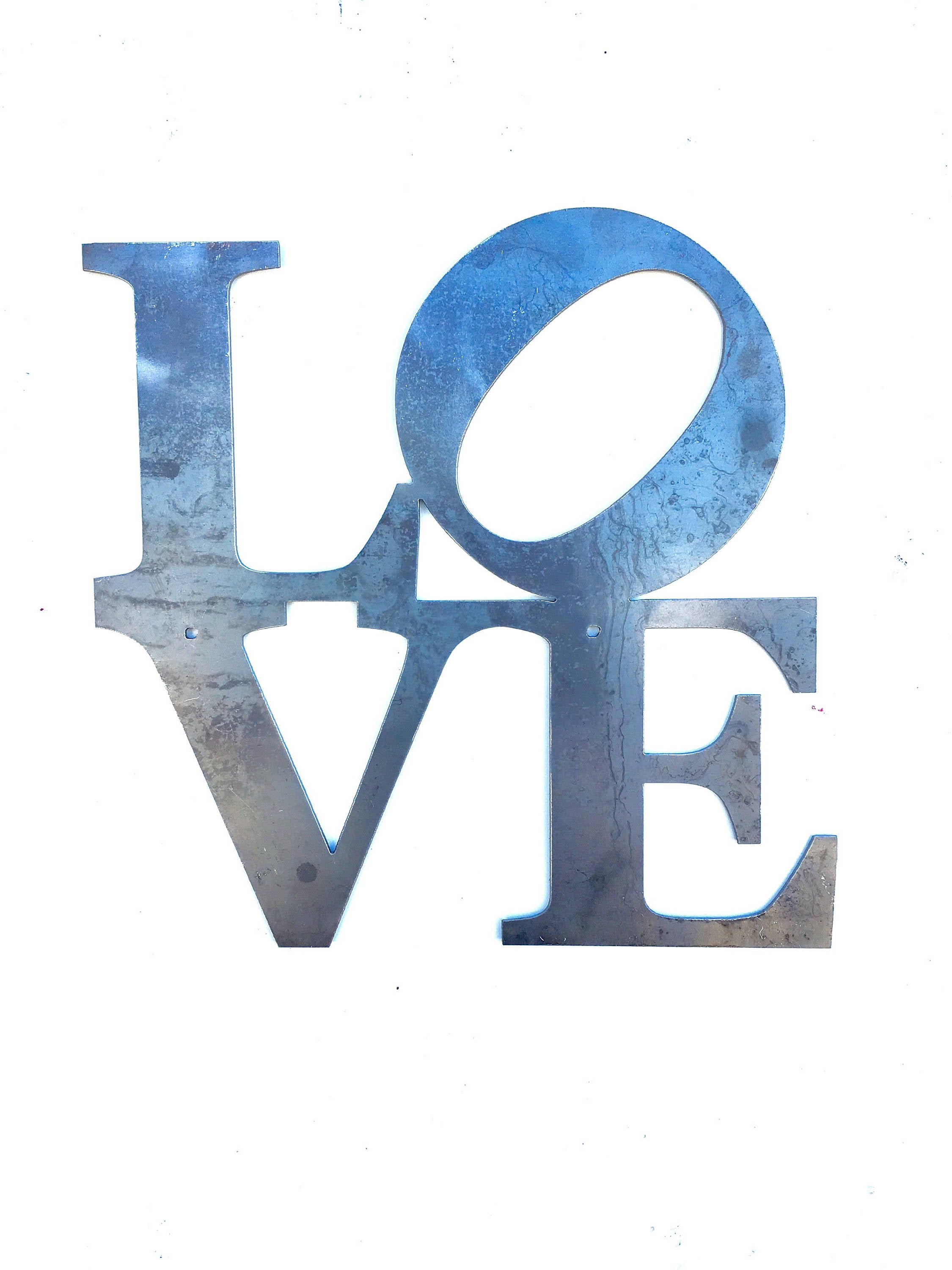 LOVE (California) Metal Wall Hanging