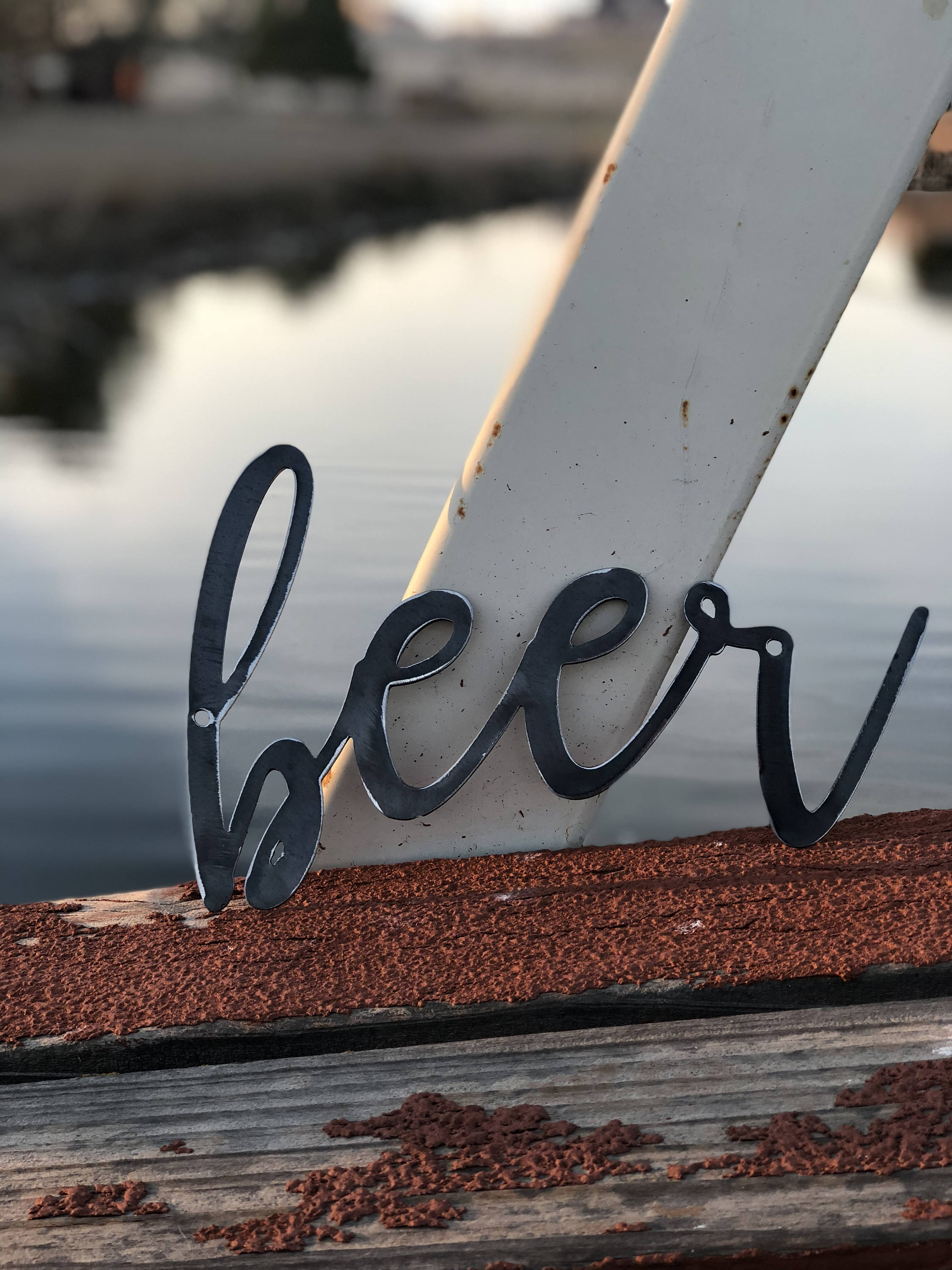 BEER Script Metal Word Wall Expressions