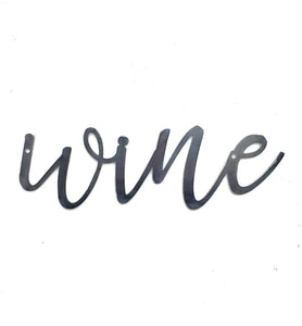 WINE Script Metal Word Wall Expressions