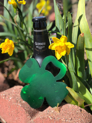 Shamrock Metal Bottle Opener