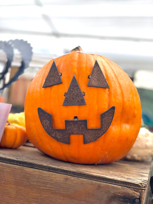 Pumpkin Jack-o-Lantern Pieces