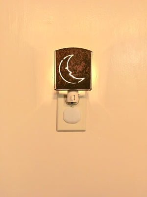 Custom Metal Night Light - Moon