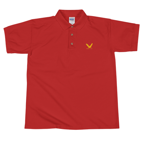 BONA FIDE RED POLO FOR MEN