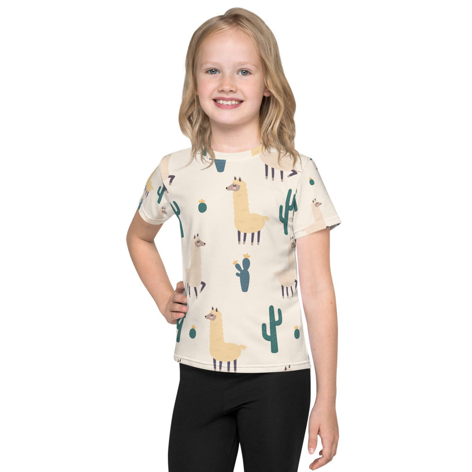 Lama Lee Kids T-Shirt