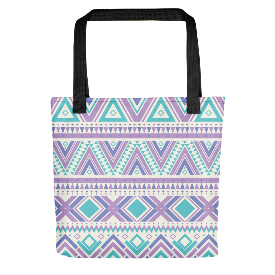 LUXURIOUS ORNAMENTAL TOTE BAG WITH BLACK BUNDLE