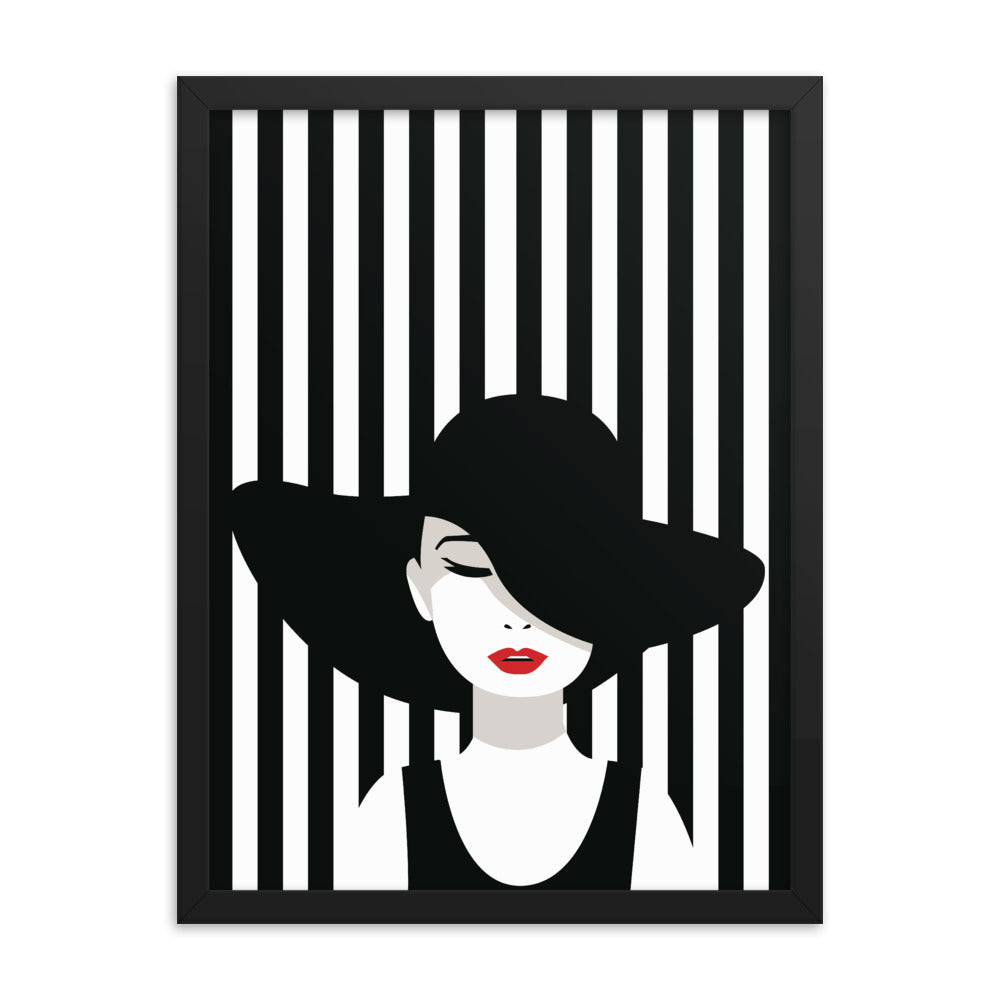 Beauty Fashion Style Framed Poster
