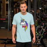 Unicorn Nerd Short-Sleeve Unisex T-Shirt