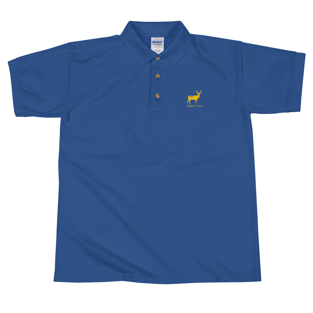 BONA FIDE ROYAL BLUE POLO FOR MEN