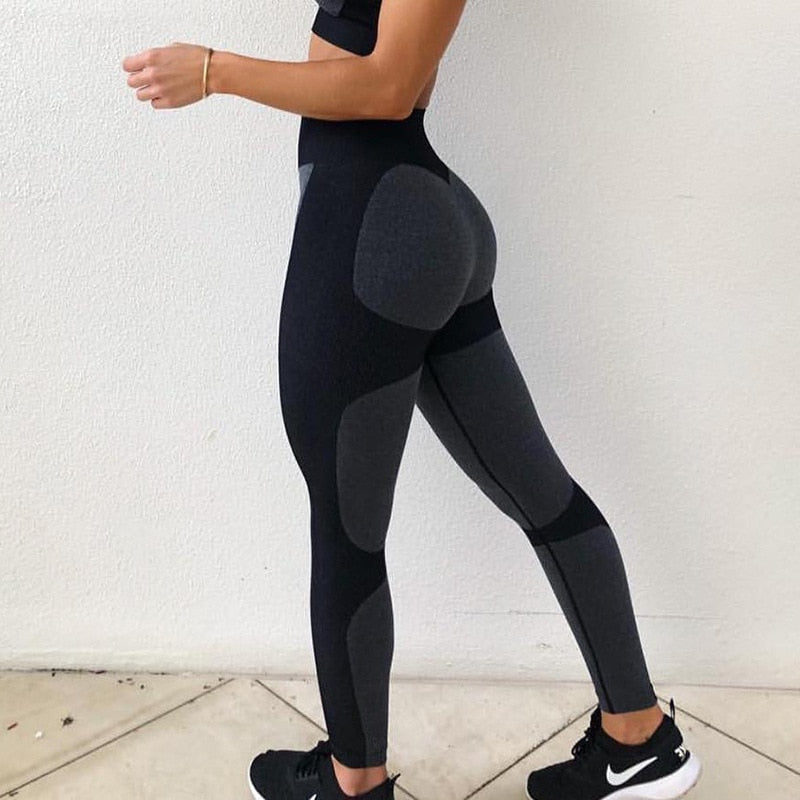Fashion High Waist Women Fitness Legging - The Discount Market