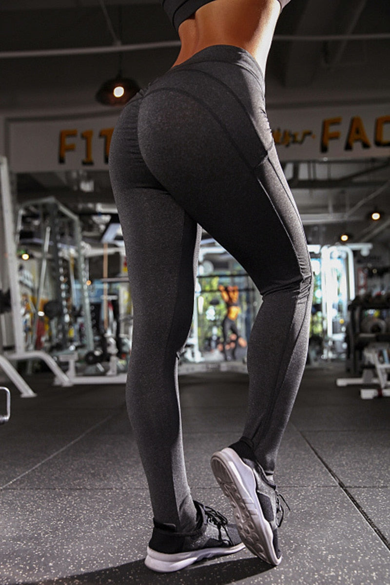 Sexy Push Up Leggings Women Workout Clothing - The Discount Market