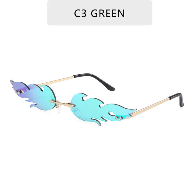 Fashion Fire Flame Women,s Sunglasses - The Discount Market