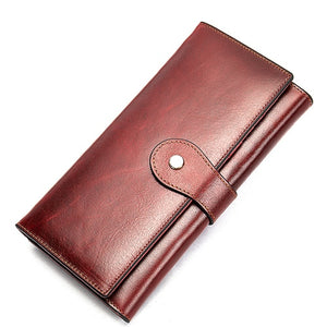 Women's Wallet Genuine Leather Clutch - The Discount Market