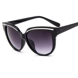Womens brand designer vintage Cat Eye black clout goggles Glasses - The Discount Market