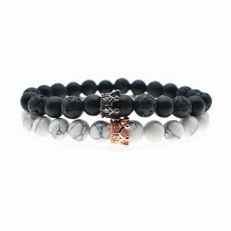 2Pc /set Couples Bracelets - The Discount Market