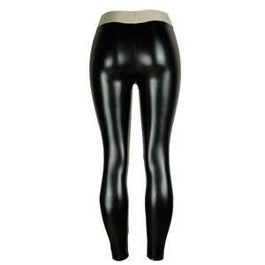 Faux Leather Winter Leggings - The Discount Market