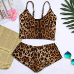 Lingerie Sexy Animal Leopard Print
