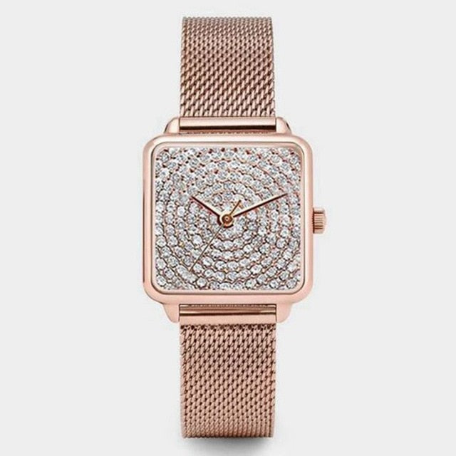 Luxury  Women Analog Quartz Wrist Watch - The Discount Market