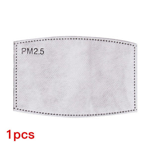 Anti Influenza, Anti Pollution PM2.5 Mouth Mask With Filter Paper - The Discount Market