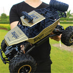 4WD Car 4x4 Double Motors Drive Bigfoot Car Remote