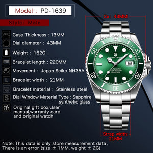 Designer Luxury Men Automatic Watche