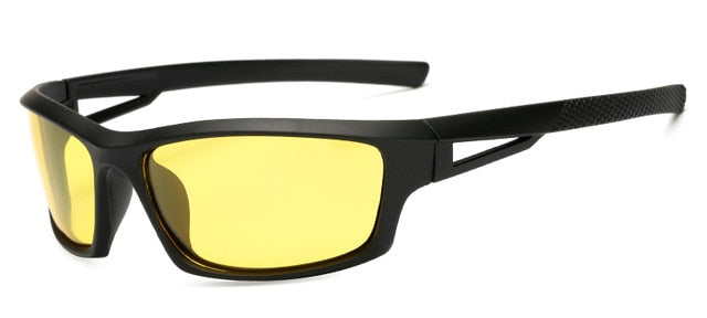 Unisex Night Vision  UV400 Polarized Driving Sunglases - The Discount Market