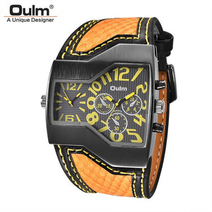 Oulm Classic Style Men's Watches - The Discount Market
