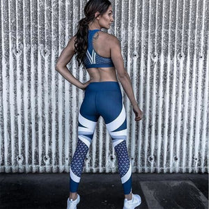 Women Casual Blue Leggings - The Discount Market