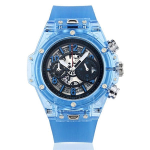 Men's Fashion Transparent Military Watch - The Discount Market