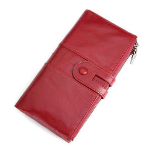 Genuine Leather Women Purse - The Discount Market