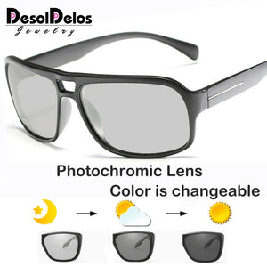 2019 Photochromic Men Polarized Sunglasses Men - The Discount Market