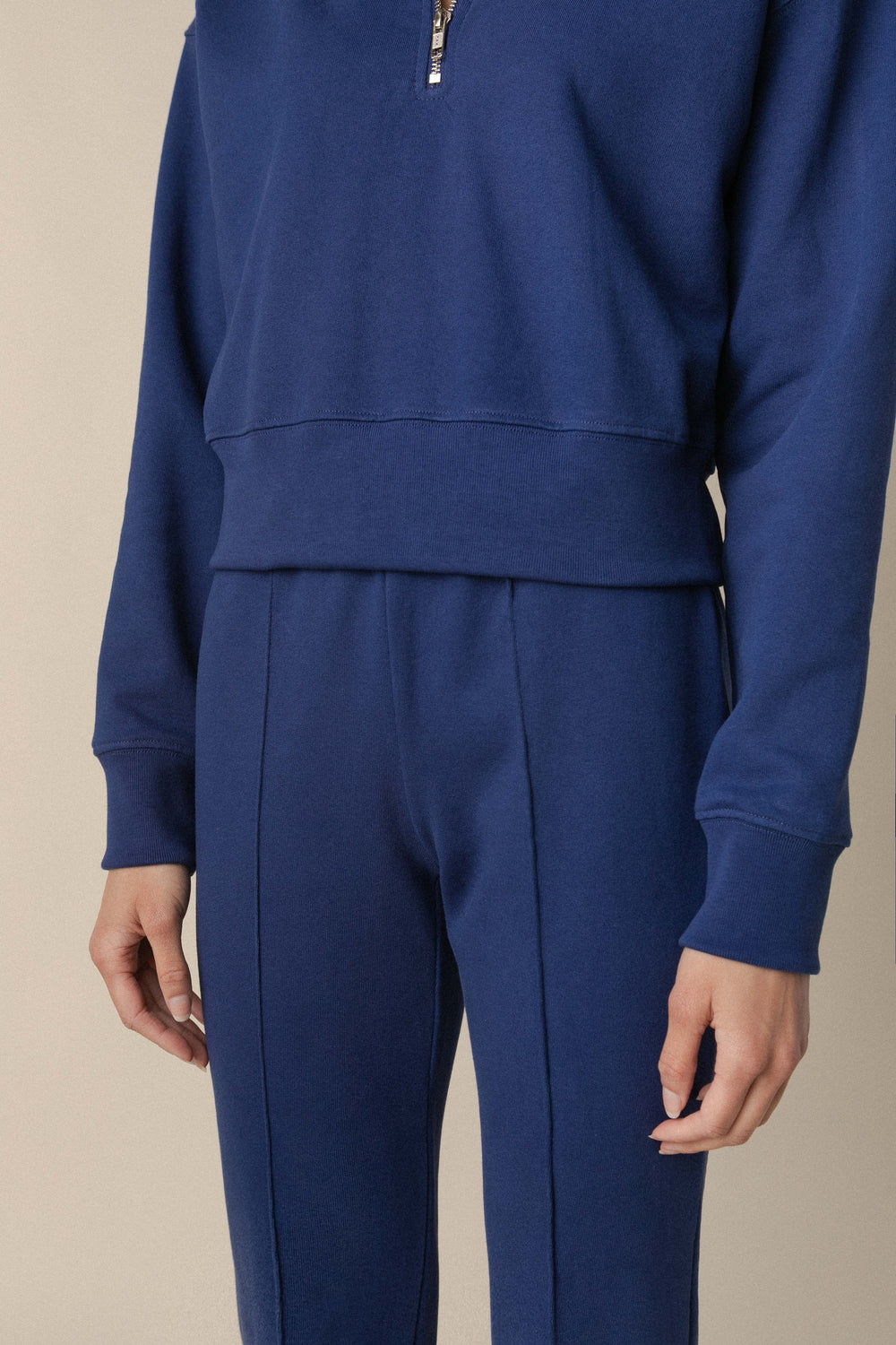 Butterhalf Pin-Tuck Sweatpants
