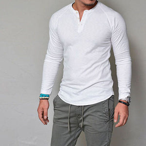Mens Henley T-Shirt