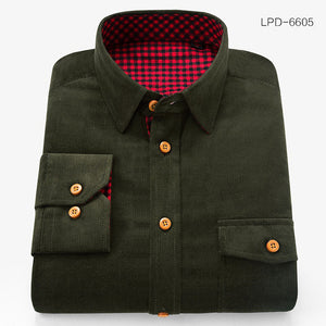 Heavy Corduroy Shirt - 100% Cotton