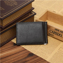 Slim Leather Billfold Wallet