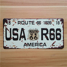 "Distressed Vintage License Plate Number ""UK-003"""