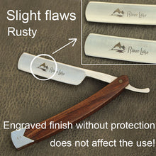 Wood Handle Straight Shaving Razor