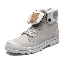 High Top Canvas Boot