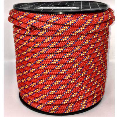 Beal 8mm Accessory Cord Drum 200m - Red & Blue