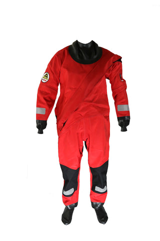 X350 Drysuit - Red/Black