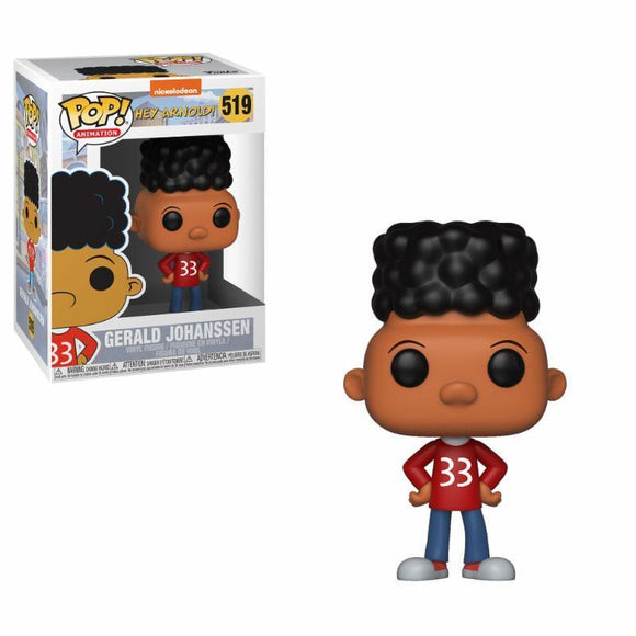 90's Nickelodeon POP! Animation Vinyl Figure Gerald (Hey Arnold!)