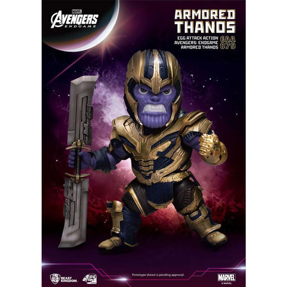 Avengers: Endgame Egg Attack Action Figure Armored Thanos (pre-order)